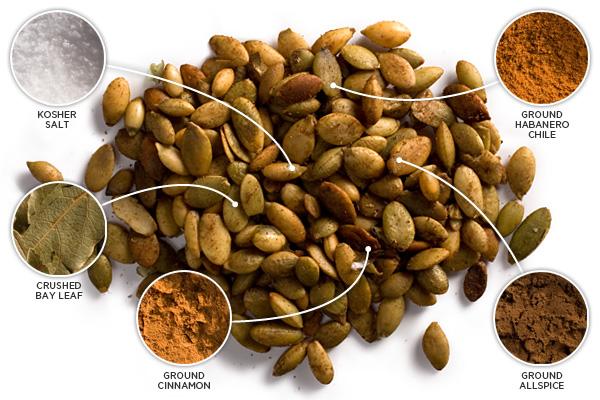 10 wyas to spice up pumpkin seeds CHOW