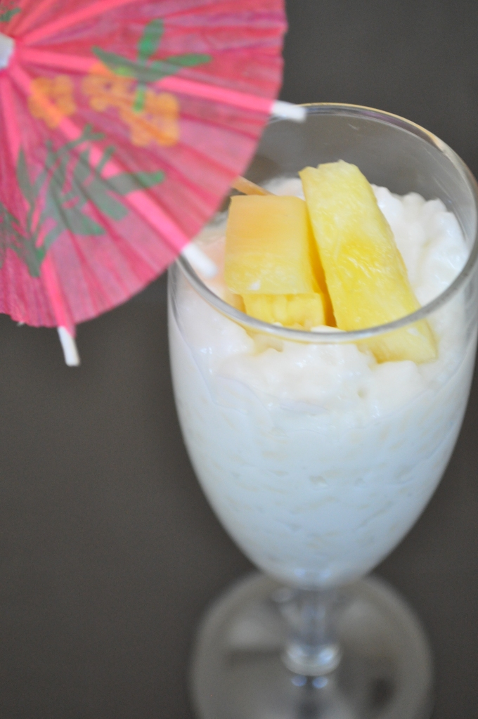 coconut and mango rice pudding pops thick creamy coconut rice pudding ...