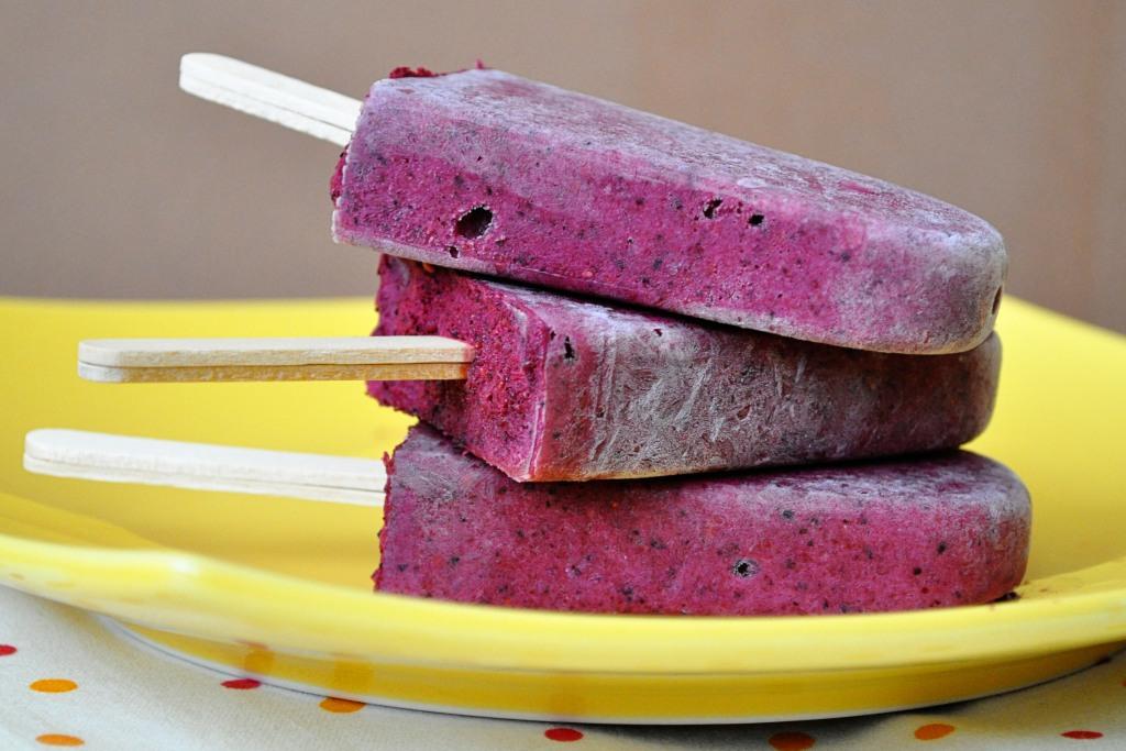 Buttermilk Berry Popsicles