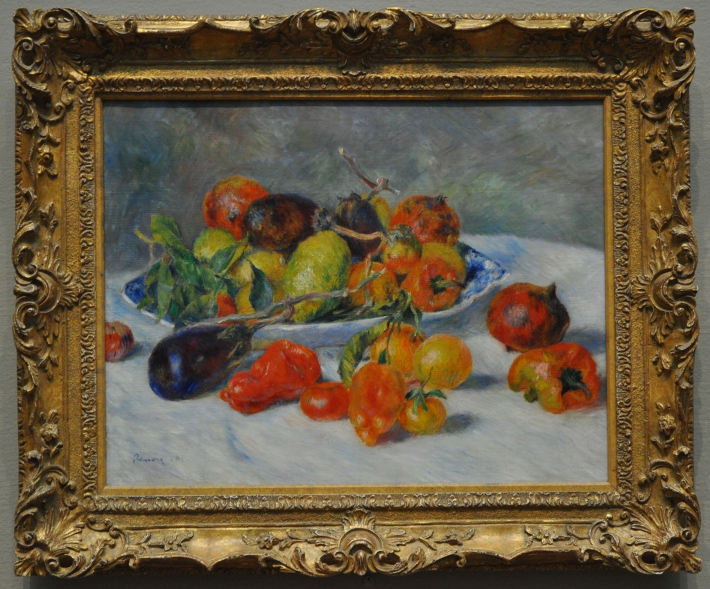 Renoir Fruits of the Midi 1881