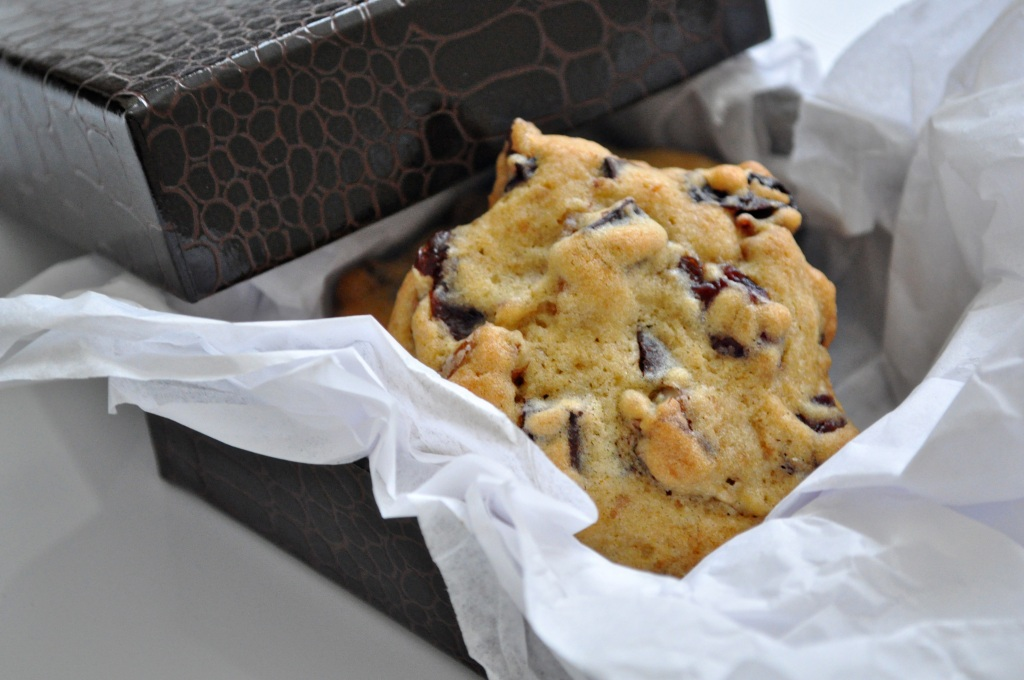 chocolate chunk cherry pecan apricot cookie