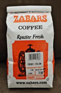 Zabar's coffee