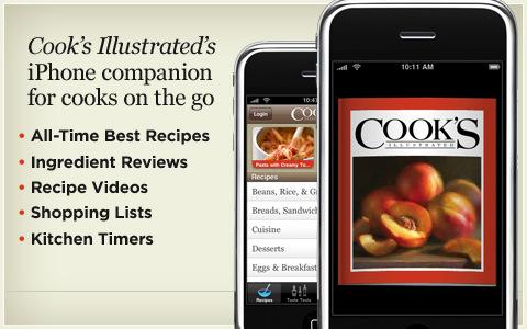 cooks illustrated app