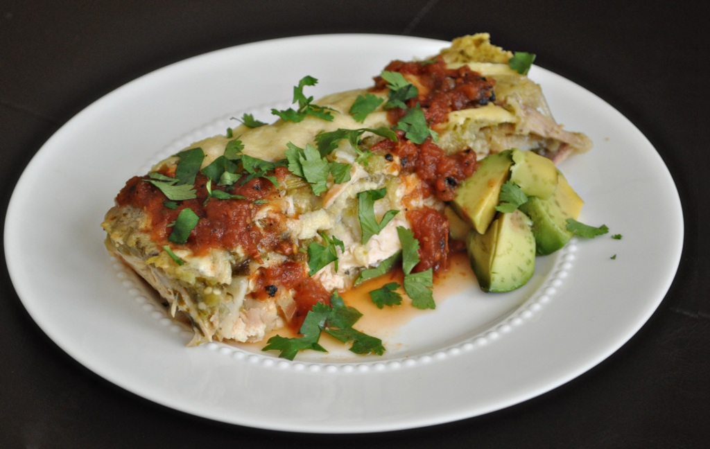 The Whole Enchilada: Enchiladas Verde, Take 1 | Tomato Tango