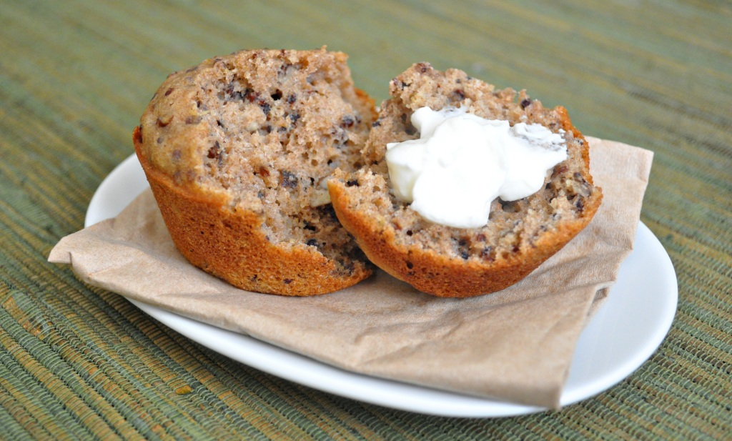 quinoa pecan muffin 2