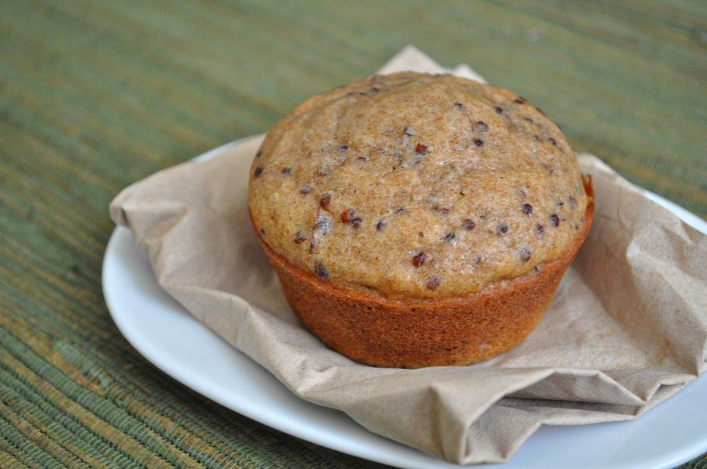quinoa pecan muffin