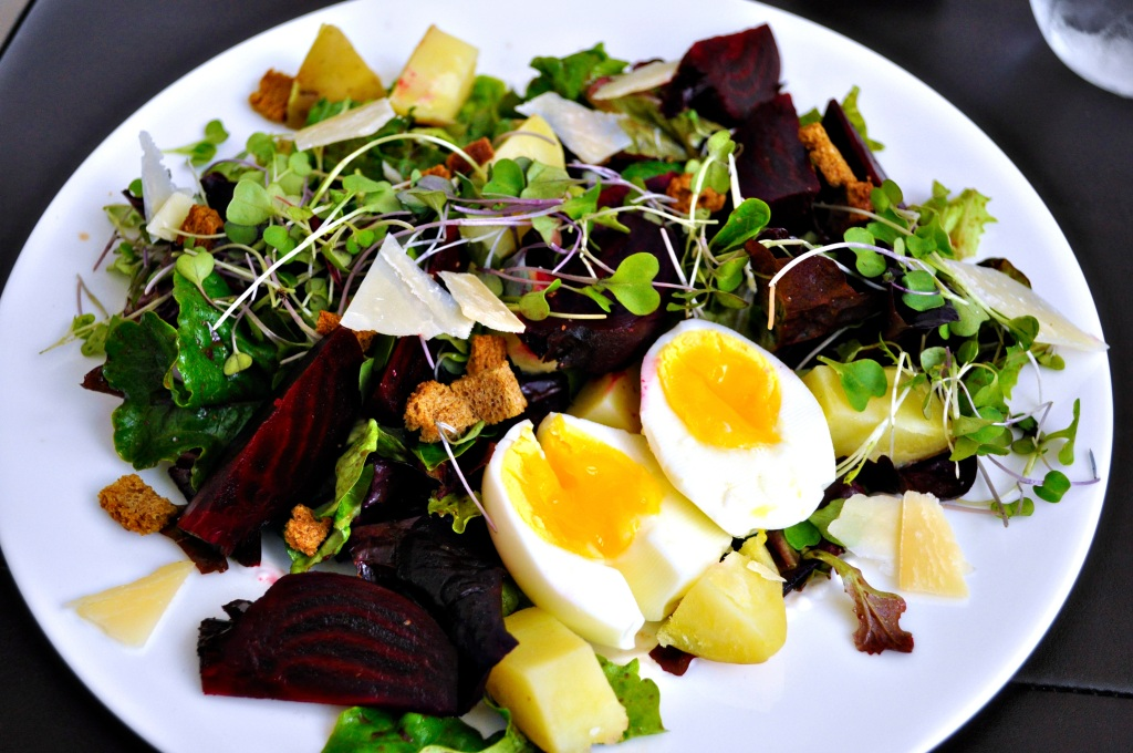 Beet, Potato and Egg Salad