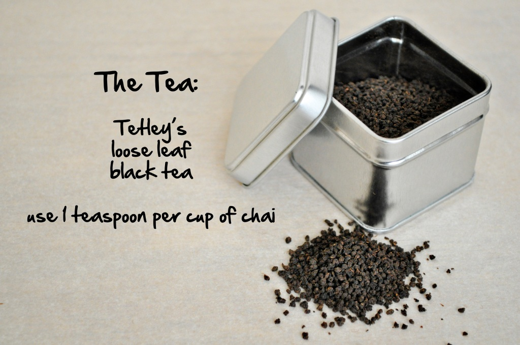 chai loose leaf tea