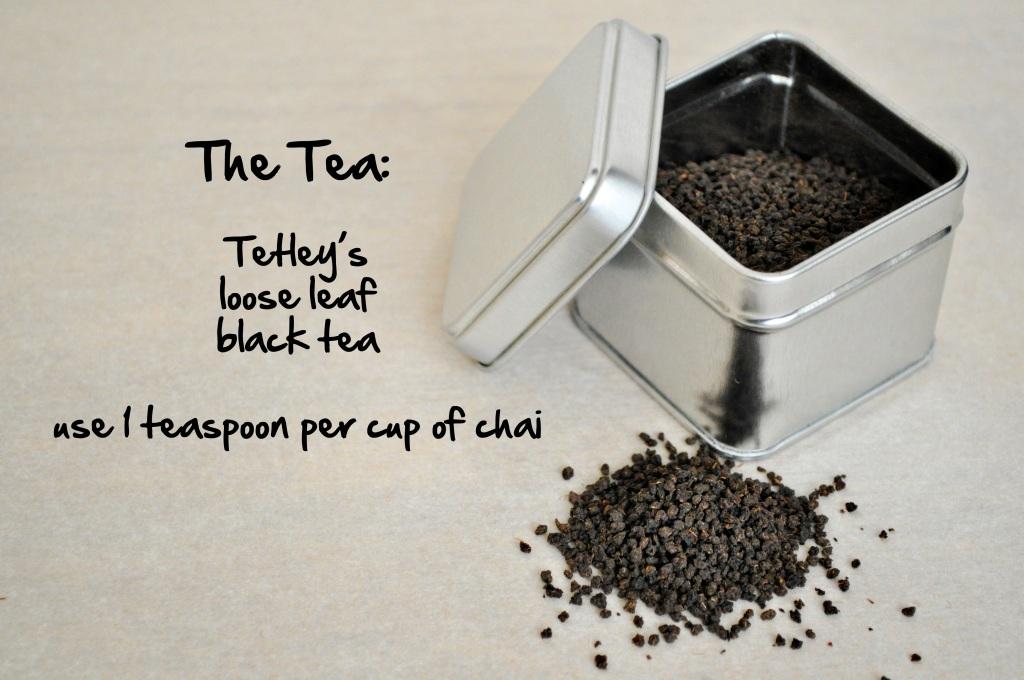 chai loose leaf tea