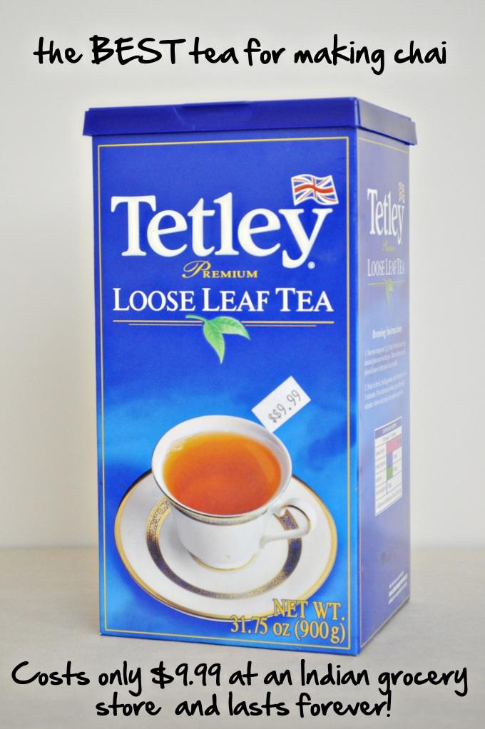 chai tetley's