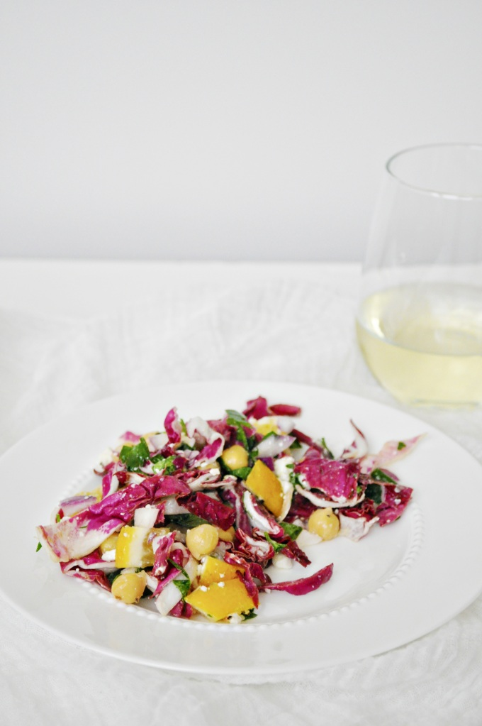 Meyer Lemon Radicchio Salad