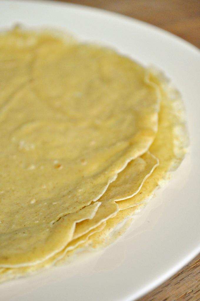 Oat Flour Crepes