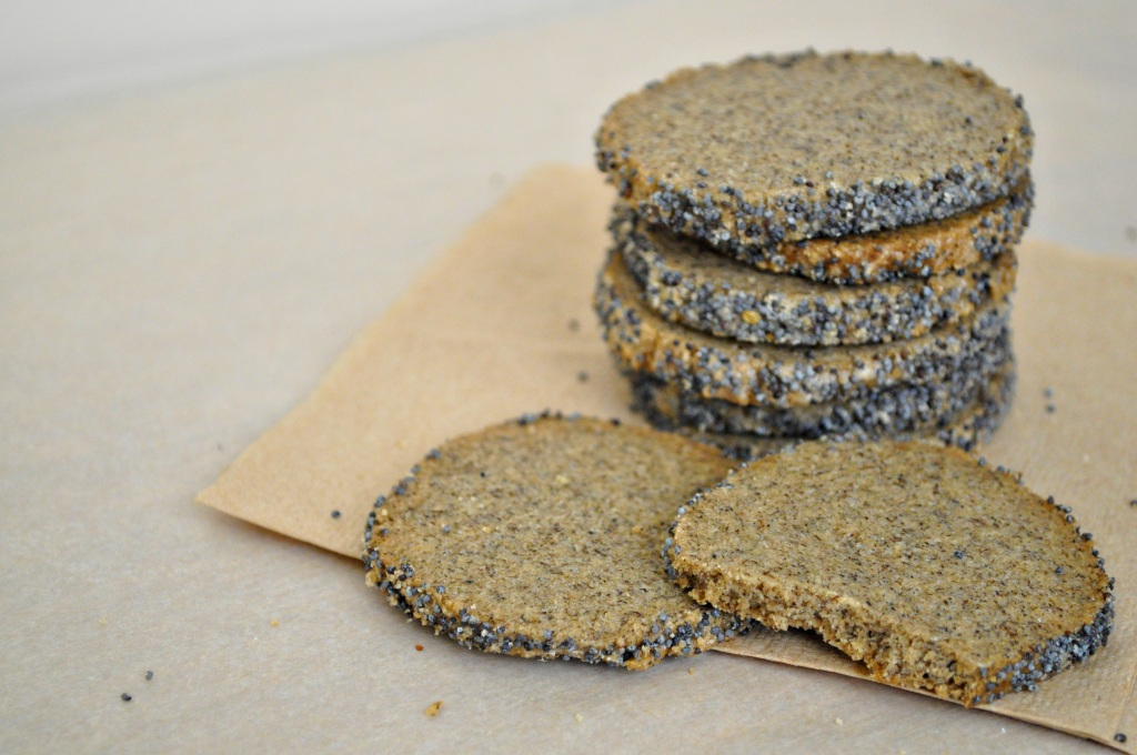 Poppy Seed Buckwheat Wafers
