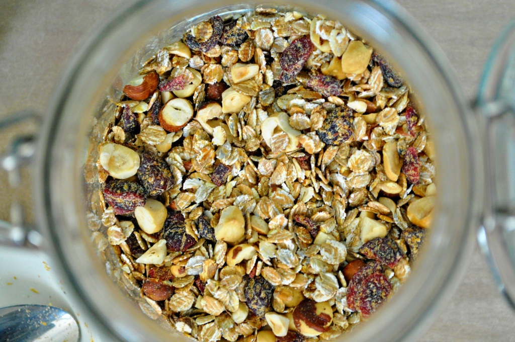 Cherry Hazelnut Muesli 2
