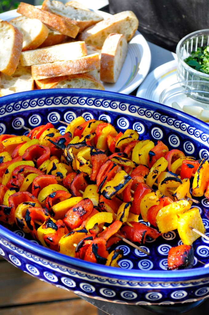 grilled veggies