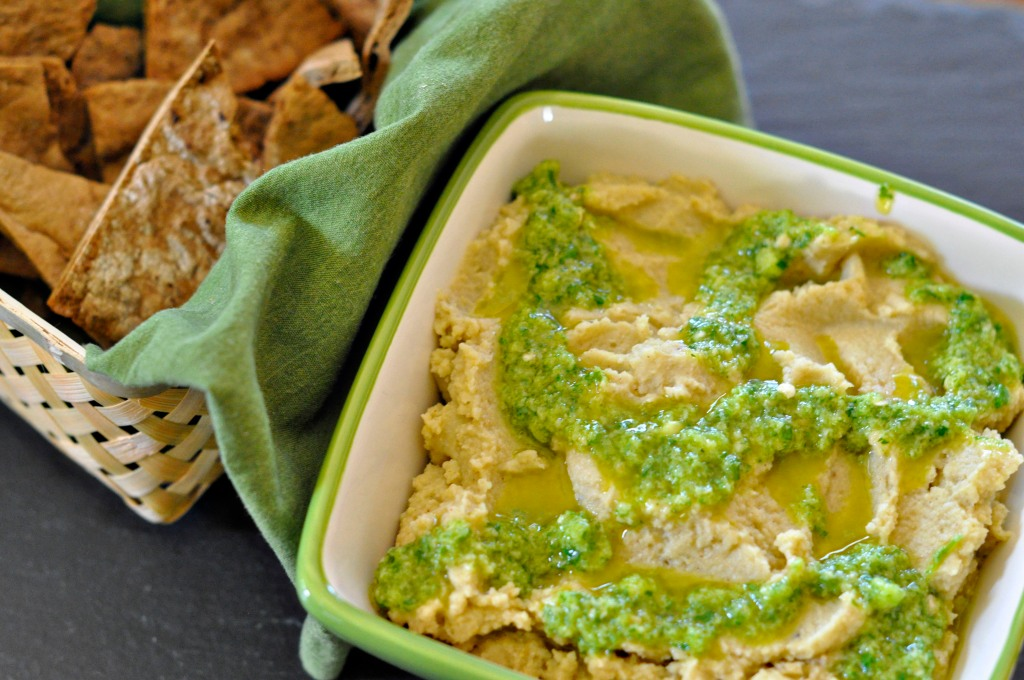 hummus with chickpeas 2